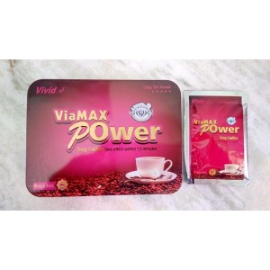 Viamax Power Sexy Coffee Stimulant For Women - 8 Sachets