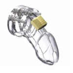 Fibre Chastity cage Lock CB6000 BDSM Sex Toy for Men BDSM01