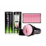 Fleshlight-Masturbator-Pink Lady Super Ribbed Original USA