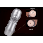 Rechargable Sex Flashlight with Pussy & Anal for Men