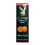 Playboy Lubricant Gel Herbal - Orange Flavoured